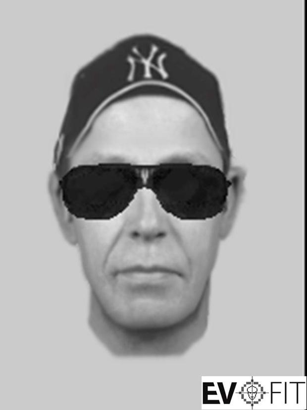 EvoFIT image of a man who assaulted an au pair in Templeogue, Dublin