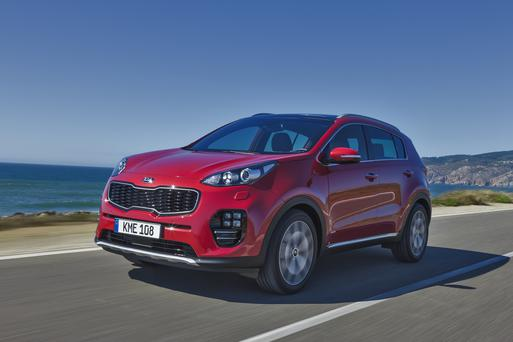The Kia Sportage