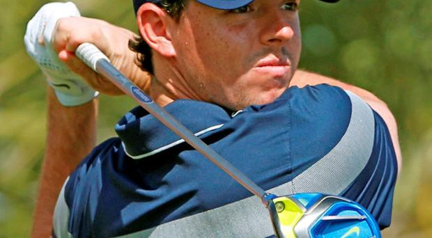Rory McIlroy kicks off his PGA Tour season next month. Photo: Ahmed Jadallah / Reuters