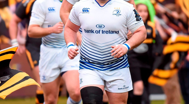 Leinster's Martin Moore. Picture credit: Stephen McCarthy / Sportsfile