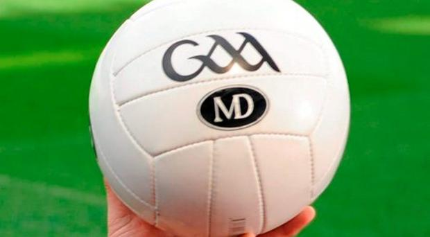 The new licensed GAA MD match football. Photo: Seb Daly / Sportsfile
