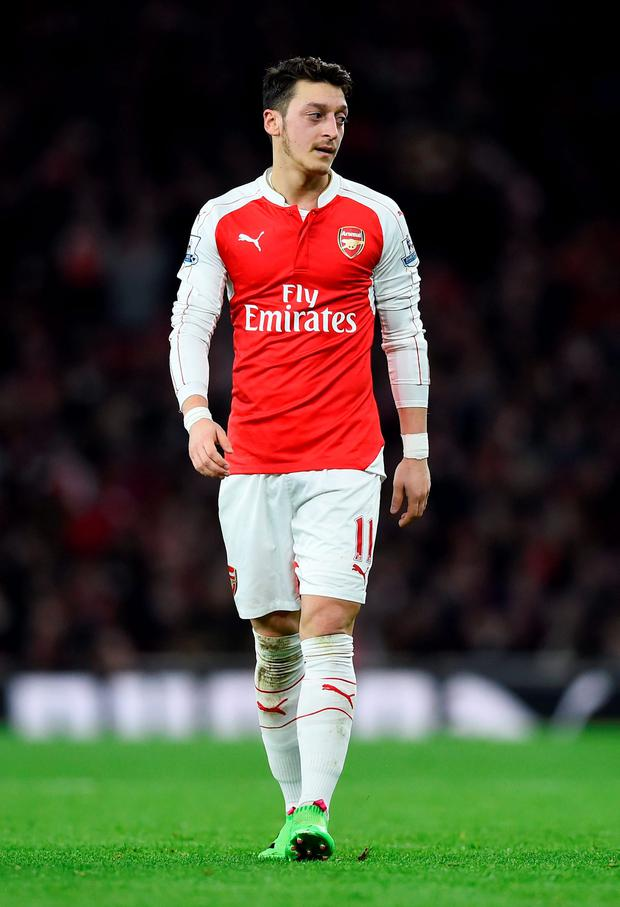 Arsenal's Mesut Ozil. Photo: Reuters