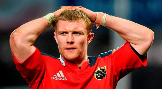 Keith Earls looks set to leave Munster for the English Premiership and join Saracens who are poised to offer him a three-year deal. Picture credit: Diarmuid Greene / Sportsfile
