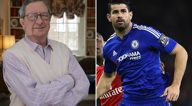 Peter Hill-Wood is not very happy with Diego Costa