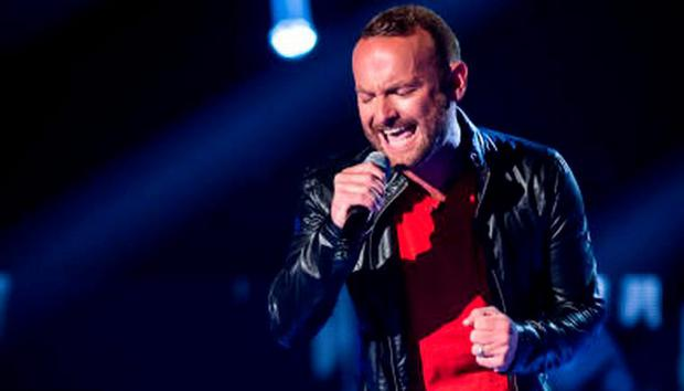 Kevin Simm on The Voice UK