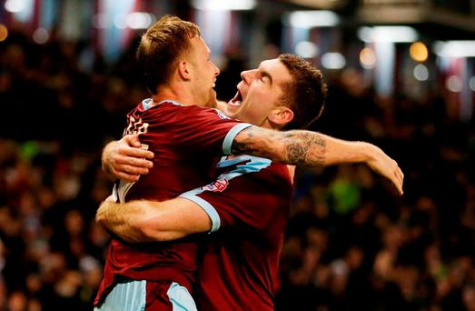 Burnley's victory completed the accumulator