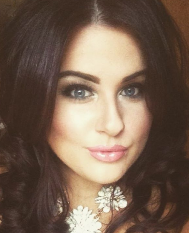 Irish plus-size model and beauty blogger Katie Higgins. Instagram
