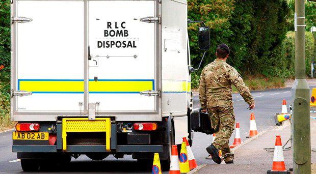 Police and bomb disposal experts found no evidence of any explosive devices