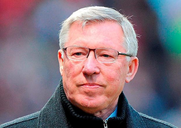 The cameras keep picking out Alex Ferguson whenever there's a moment of crisis at Old Trafford (Photo: PA Wire)