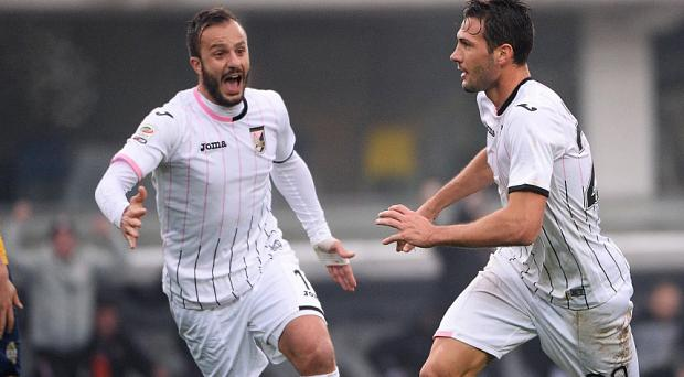 Franco Vazquez (r) could further his career with switch to Old Trafford believes his former coach Photo: GETTY IMAGES