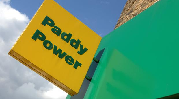 Paddy Power store exterior branding. (Photo by: Newscast/UIG via Getty Images)