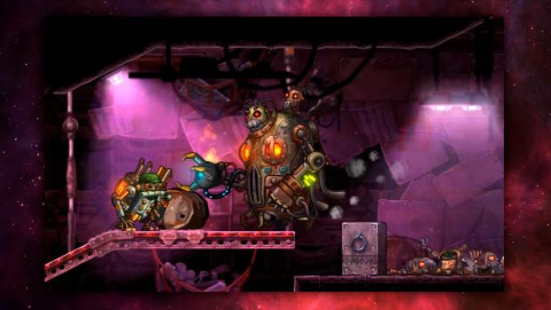 SteamWorld Heist: Boss fights change up the strategy