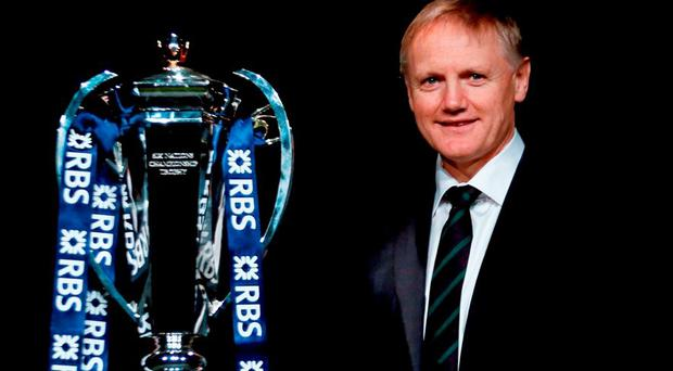 Ireland head coach Joe Schmidt in attendance at the RBS Six Nations launch. The Hurlingham Club, Ranelagh Gardens, London, England. Picture credit: Paul Harding / SPORTSFILE