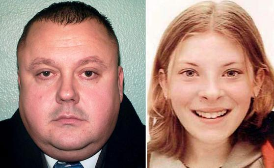 Undated handout photos of Levi Bellfield and Milly Dowler. Photo: PA/PA Wire