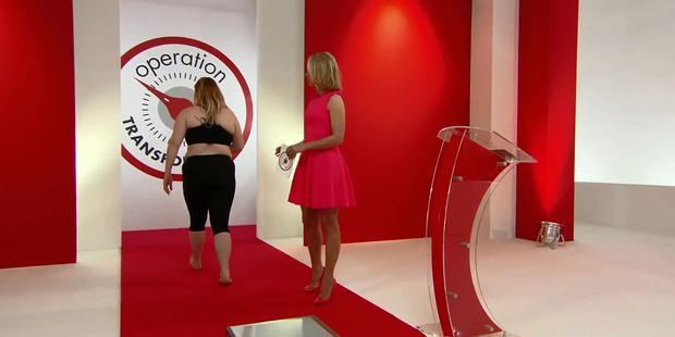 Lucy Dillon breaks down in tears (Photo: Operation Transformation)
