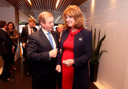 Taoiseach Enda Kenny and Tánaiste Joan Burton's Coalition enjoys the largest Dáil majority in the history of the State. Picture credit: Damien Eagers