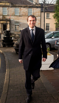 TD Sean Conlan at Carrickmacross court house. Picture: Arthur Carron