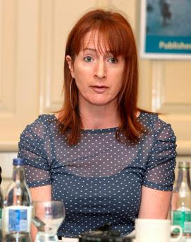 Clare Daly: questioned former ICTU leader's expertise. Picture credit: Damien Eagers