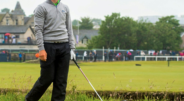 Paul Dunne has looked at home on the European Tour after securing his card at qualifying school in November: Bill Murray / SPORTSFILE