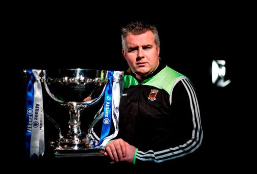 Mayo boss Stephen Rochford filled the biggest of vacancies that arose during the autumn: SPORTSFILE