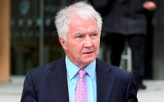 Former Anglo director Sean FitzPatrick. Photo: Steve Humphreys