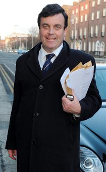 Former Finance Minister Brian Lenihan. Pic credit; Damien Eagers