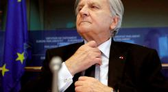 THE MAN WHO BROKE IRELAND: ECB President Jean-Claude Trichet. REUTERS/Yves Herman
