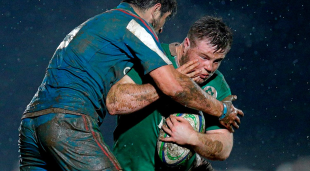 Most of the tighthead duties will likely be split between two Connacht players, Conan O'Donnell, pictured, and Conor Kenny. SPORTSFILE