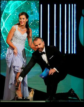 Daithi O Se at the 205 Rose of Tralee. Picture: Steve Humphreys