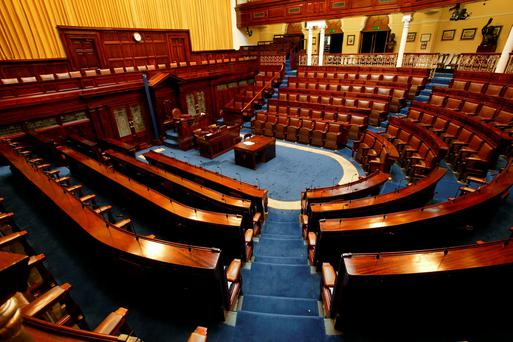 The Dáil chamber in Leinster House. Photo: Tony Gavin