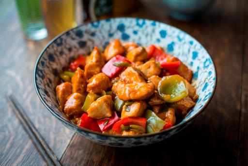 Donal Skehan's Sweet and Sour Chicken.