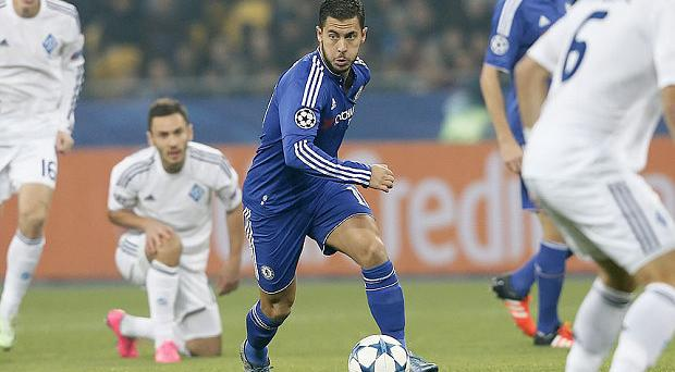 Money matters: The likes of Eden Hazard will not be hit financially if Chelsea fail