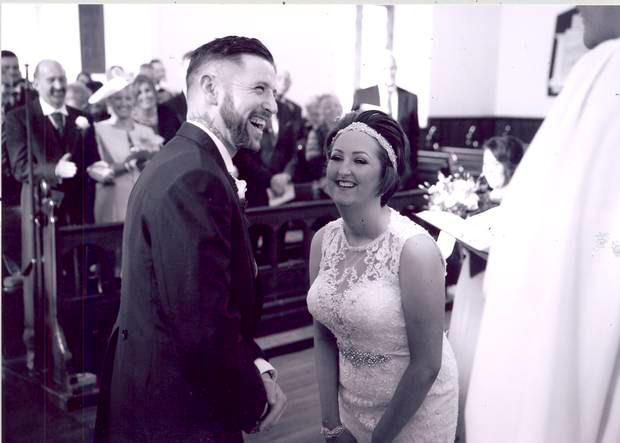 Melissa with her husband Clive