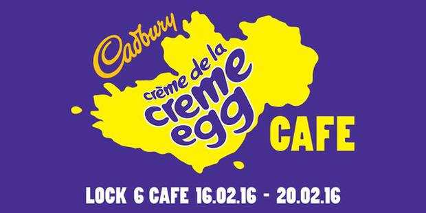 The Creme Egg cafe will open in Dublin for a limited time.