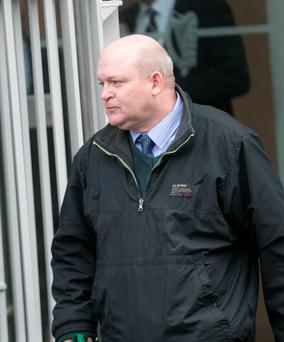 Mark Hobbs pictured outside Limerick Court Picture: Brian Gavin Press 22