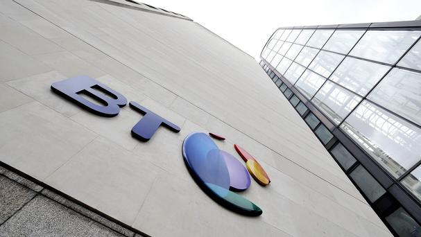 BT Ireland, which is contracted to deliver the vital call answering service, said it had drawn up contingency plans after more than 60 workers began a ballot for industrial action. Photo: PA