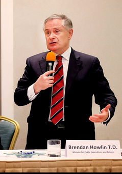 Public Expenditure Minister Brendan Howlin. Photo: Steve Humphreys