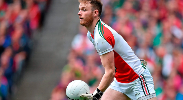 Rob Hennelly will again be between the posts for Mayo against Cork tomorrow Photo: Sportsfile