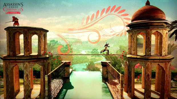 Assassin's Creed Chronicles India: Gorgeous backgrounds