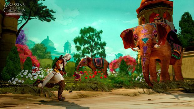 Assassin's Creed Chronicles India: Evocative of the 18th century