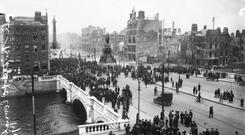 'Was it really for this that the 1916 rebels rose up at Easter? Where were the vision, the poetry, the sense of a bigger picture? After all we've been through, where was 'the Democratic Revolution' and 'Renewing the Republic'?'. Photo: Independent Newspapers