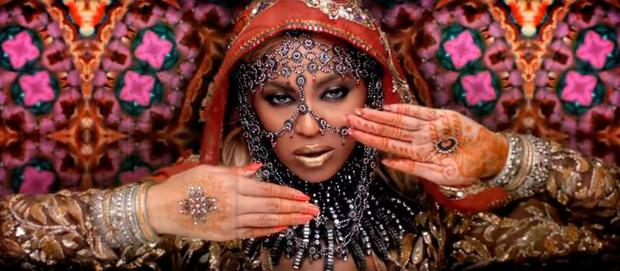 Beyonce in Coldplay's new video for Hymn for the Weekend