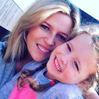 Susan Keogh with her daughter Faith (4)