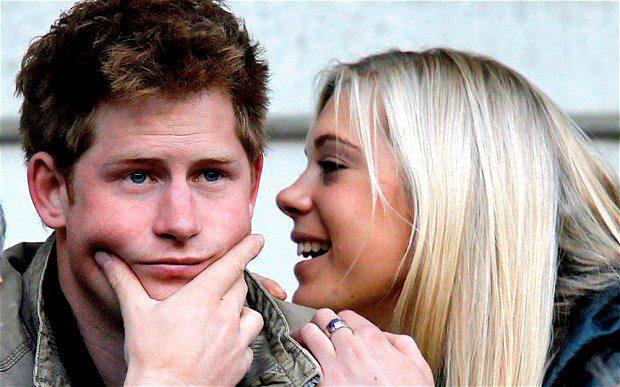 The Prince also dated Chelsy Davy