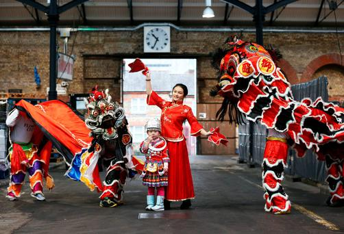 Celebrations: The Dublin Chinese New Year Festival runs from February 6 to 21.