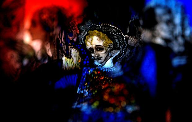 Through a glass lightly: An etching by Harry Clarke