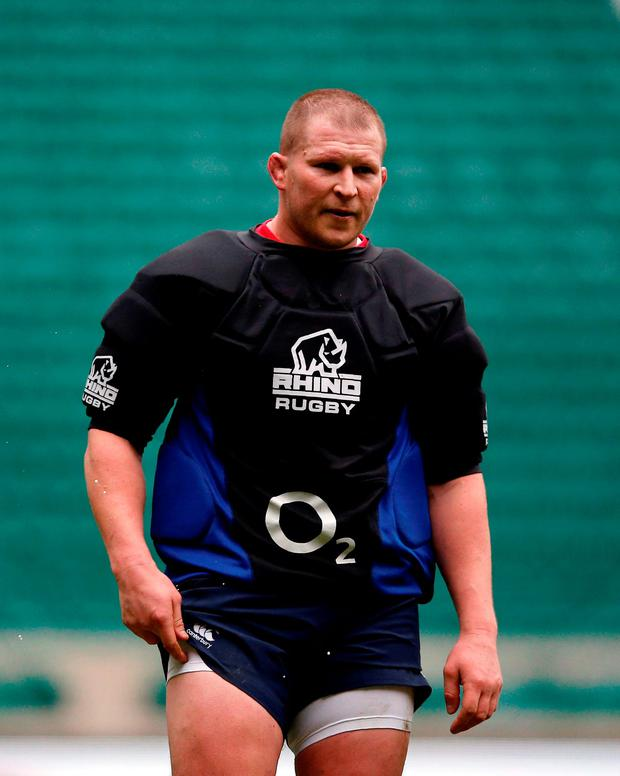 'What goes through Hartley's mind when he attempts to disgorge the contents of another man's eye socket?' Photo: AFP/Getty