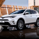 Spacious: The new Toyota Rav4 has all-wheel-drive and adaptive cruise control among other new features such as the pedestrian safety system. Hybrid prices start at e37,950