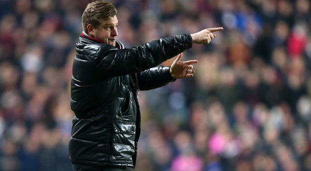 MK Dons' Karl Robinson. Photo by Catherine Ivill - AMA/Getty Images