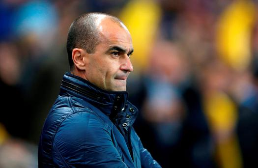 Everton manager Roberto Martinez. Tim Goode/PA Wire